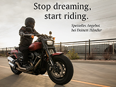 Stop dreaming, start riding!